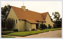 Wheeler Avenue Baptist Church - Original Wooden Building